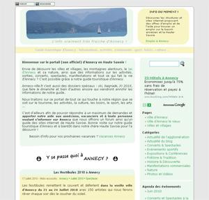 Miniature du guide Annecy-ville