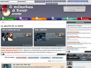 screen 5 minutes à tuer