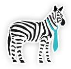 Logo su site Neo Nomade (Zèbre)