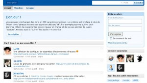 Impression du site salamale.com