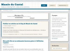 Mamie du Cantal